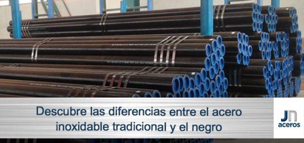 4 diferencias entre el acero inoxidable tradicional y el negro