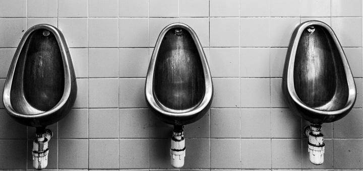 urinario acero