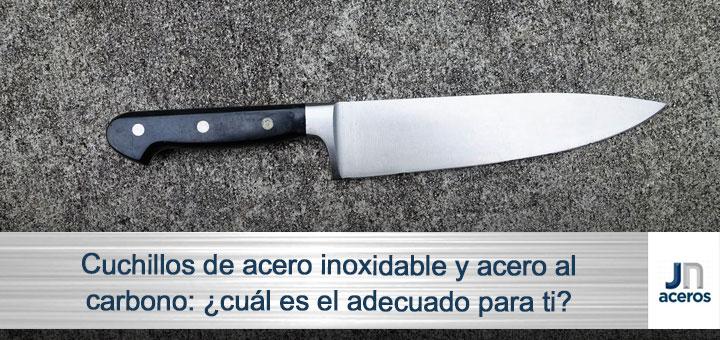 cuchillo acero inoxidable