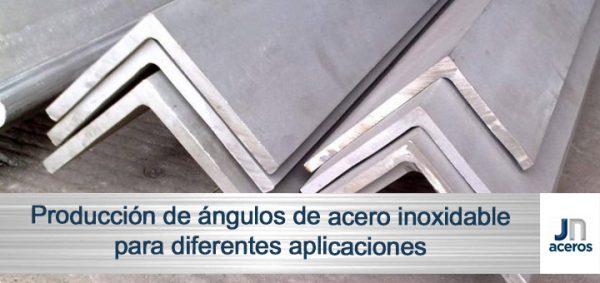 Producción de ángulos de acero inoxidable para diferentes aplicaciones