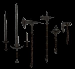 Armas de acero