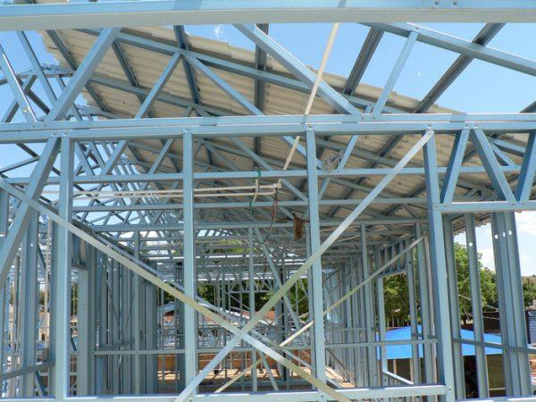 Ventajas del armazón de acero en la construcción de edificios