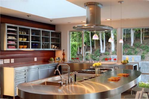 Cómo decorar la cocina con electrodomésticos de acero inoxidable