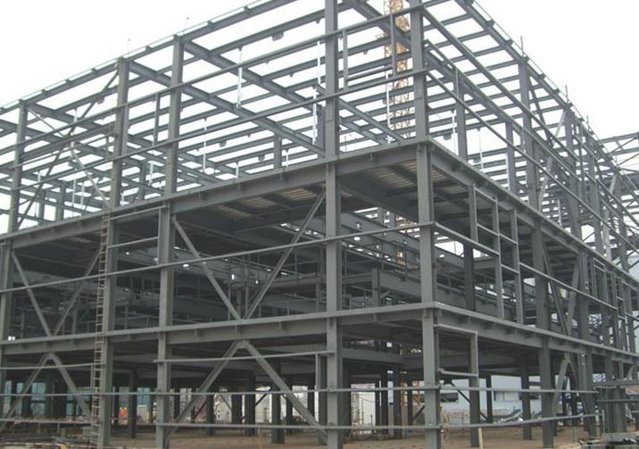 estructura edificio de acero inoxidable jnaceros