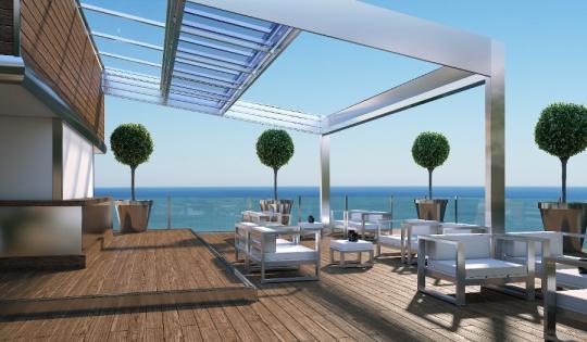 Opta por muebles y accesorios de acero inoxidable para tu casa de playa