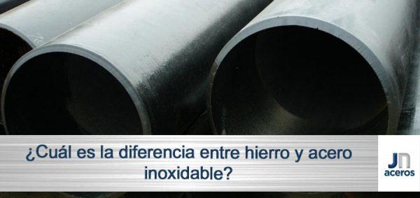 ¿Cuál es la diferencia entre hierro y acero?