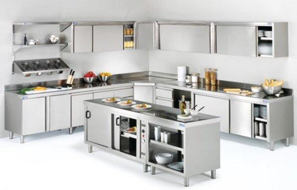 Opta por electrodomésticos de acero inoxidable en tu cocina