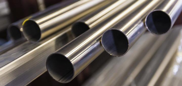limpiar tubos de acero inoxidable