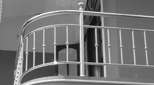 Pasamanos de acero inoxidable: Agrega variedad estética y funcionalidad