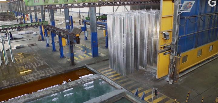 proceso galvanizado acero